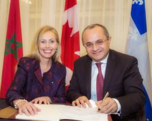 Bonne nouvelle pour les marocains r sidant au canada for Commerce exterieur canada